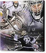 Jonathan Quick Collage Canvas Print
