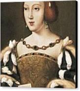 Joos Van Cleve 1485-1541. Eleanor Canvas Print by Everett