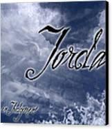 Jordan - Wise In Judgement Canvas Print by Christopher Gaston