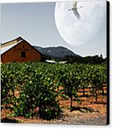 Journey Through The Valley Of The Moon 5d24485 Square Canvas Print by Wingsdomain Art and Photography
