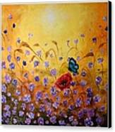Joy Canvas Print by Draia Coralia