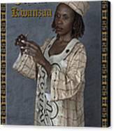 Joyous Kwanzaa  Photo Greeting Card Canvas Print by Andrew Govan Dantzler