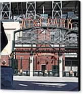 Juan Marichal At San Francisco Att Park . 7d7640 Canvas Print by Wingsdomain Art and Photography