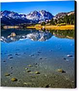 June Lake California Canvas Print by Scott McGuire