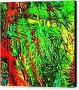 Jungle Beat Canvas Print by Monique Wegmueller