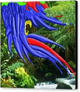 Jungle Quaker Canvas Print by John Kreiter