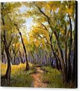 Just Before Autumn Canvas Print by Susan Jenkins