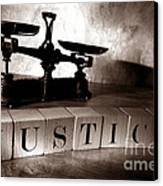 Justice Canvas Print by Olivier Le Queinec