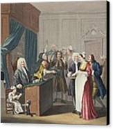 Justice Triumphs, Illustration Canvas Print