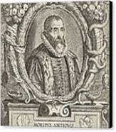 Justus Lipsius, Belgian Scholar Canvas Print by Photo Researchers