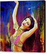 Kaatil Haseena Canvas Print by Corporate Art Task Force