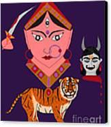 Kaatyayani Canvas Print by Pratyasha Nithin