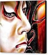 Kabuki Three Canvas Print