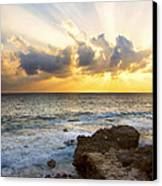 Kaena Point State Park Sunset 2 - Oahu Hawaii Canvas Print by Brian Harig