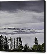 Kal Lake In The Mist Canvas Print by Rod Sterling