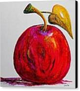 Kaleidoscope Apple -- Or -- Apple For The Teacher  Canvas Print by Eloise Schneider