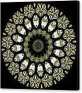 Kaleidoscope Ernst Haeckl Sea Life Series Steampunk Feel Triptyc Canvas Print