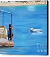Kalos Yalos Canvas Print by Kostas Koutsoukanidis