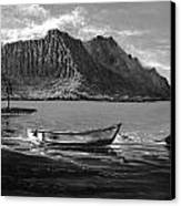 Kaneohe Bay Early Morn - Study Canvas Print by Joseph   Ruff