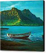 Kaneohe Bay Early Morn 1 Canvas Print