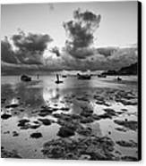 Kaneohe Bay Canvas Print by Tin Lung Chao