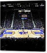 Kansas State Wildcats Fred Bramlage Coliseum Canvas Print by Replay Photos