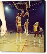 Kareem Abdul Jabbar  Canvas Print by Retro Images Archive