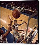 Kareem Abdul Jabbar Tip In Canvas Print by Retro Images Archive
