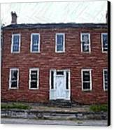 Karrick Parks House - Perryville Ky Canvas Print