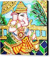 Kasi Yatra Ganesh Canvas Print