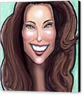 Kate Middleton Canvas Print by Kevin Middleton