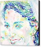Kate Middleton Portrait.2 Canvas Print