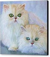Katrina And Bjorn Canvas Print