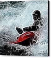 Kayaker 2 Canvas Print by Bob Christopher