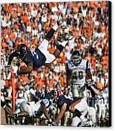 Keith Payne Superman Dive Virginia Cavaliers Football Canvas Print by Jason O Watson