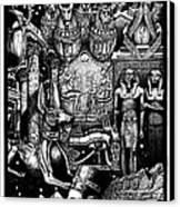 Kemitology Canvas Print by Matthew Ridgway