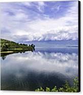 Kerkini Lake View. Canvas Print