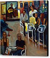 Kevro's Art Bar Canvas Print