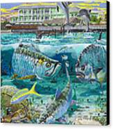Key Largo Grand Slam Canvas Print by Carey Chen