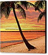 Key West Beach Canvas Print by Marty Koch