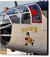 Killer Bee Canvas Print