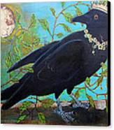 King Crow Canvas Print