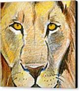King Canvas Print by Debi Starr