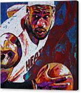 King James Canvas Print by Maria Arango