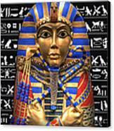 King Of Egypt Canvas Print