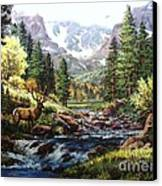 King Of The Valley Canvas Print by W  Scott Fenton