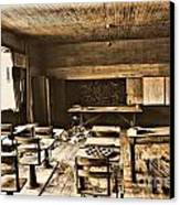King School 1916 To 1948 Canvas Print by Michelle and John Ressler