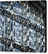 Kings Cross St Pancras Windows Canvas Print