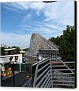 Kings Dominion - 12123 Canvas Print by DC Photographer
