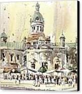 Kingston Market Square Canvas Print by David Gilmore